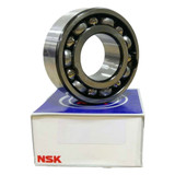 3302J - NSK Double Row Angular Contact Bearing - 15x42x19mm