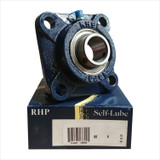 MSF50 - RHP Cast Iron Flange Bearing Unit - 50mm Shaft Diameter