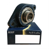 LFTC12 - RHP Cast Iron Flange Bearing Unit - 12mm Shaft Diameter