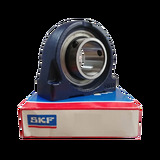 SYF25FM - SKF Y-Bearing Shortened Cast Plummer Block Unit - 25 Bore