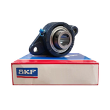 FYTB25WF - SKF Flanged Y-Bearing Unit - Oval Flange - 25 Bore