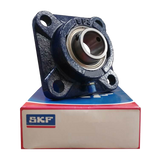 FY15FM - SKF Flanged Y Bearing Unit - Square Flange - 15 Bore