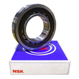 NUP208ET - NSK Cylindrical Roller Bearing - 40x80x18mm