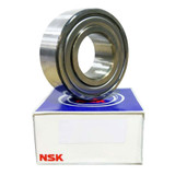 5206ZZTN0 - NSK Double Row Angular Contact - 30x62x23.8mm