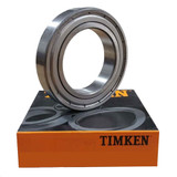 16003-ZZ - Timken Deep Groove Radial Ball Bearings  - 17x35x8mm