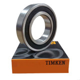 6206-2RS - Timken Deep Groove Radial Ball Bearings  - 30x62x16mm