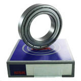 6303ZZC4 - NSK Deep Groove Radial Ball Bearings - 17x47x14mm