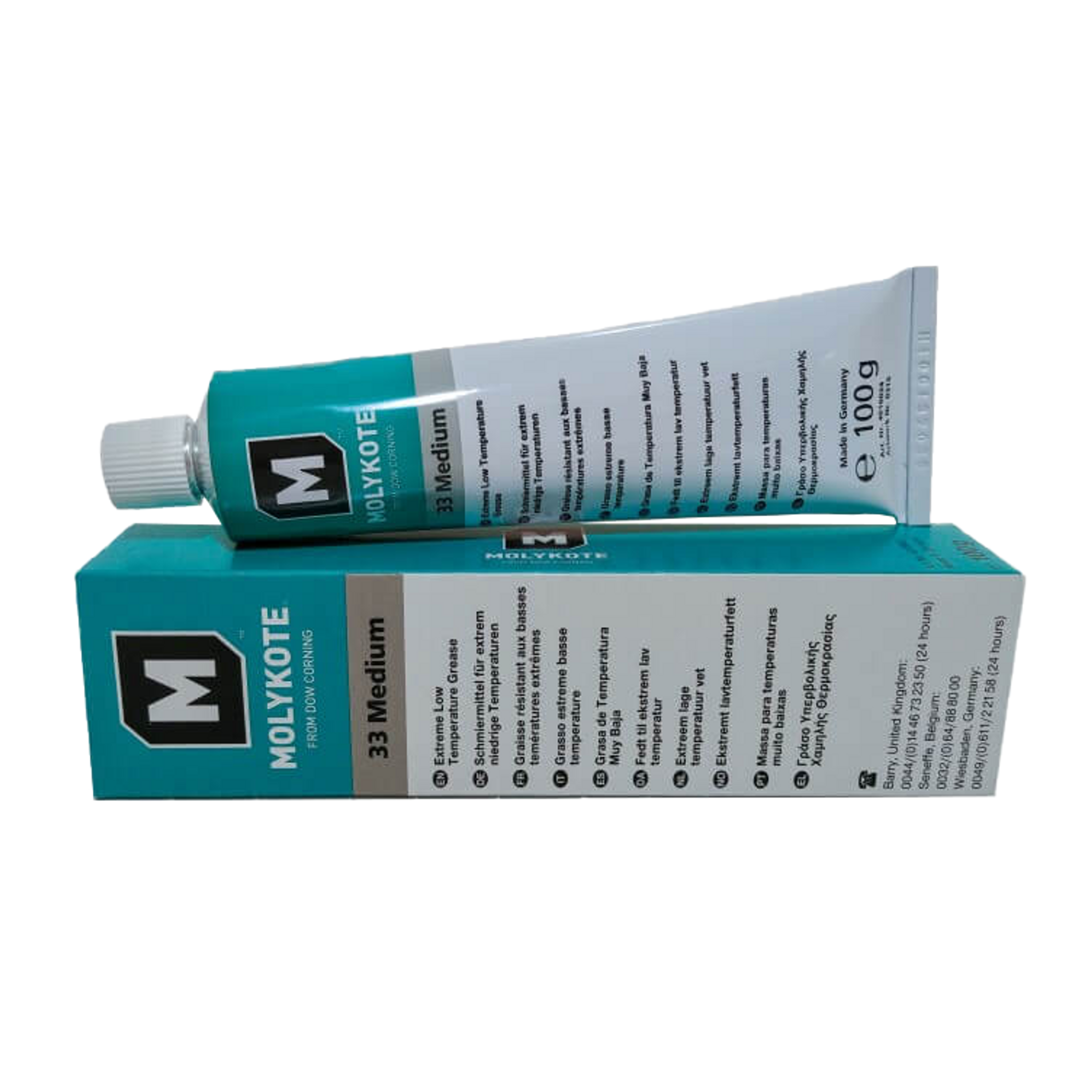 Molykote 33 Medium Grease 100g Quality Bearings Online