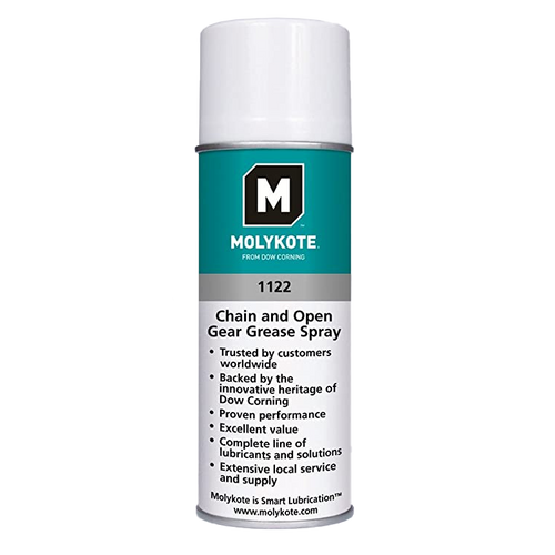 Molykote 1122 - 400ml - Chain and Open Gear Grease  (Aerosol)