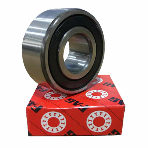 Self Aligning Double Row Ball Bearing 2203-2RS With 2 Rubber Seals 17x40x16mm