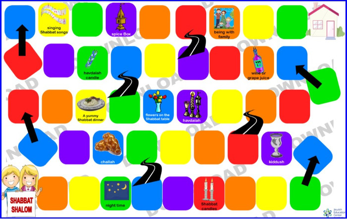 Shavuot CandyLand (a downloadable item)