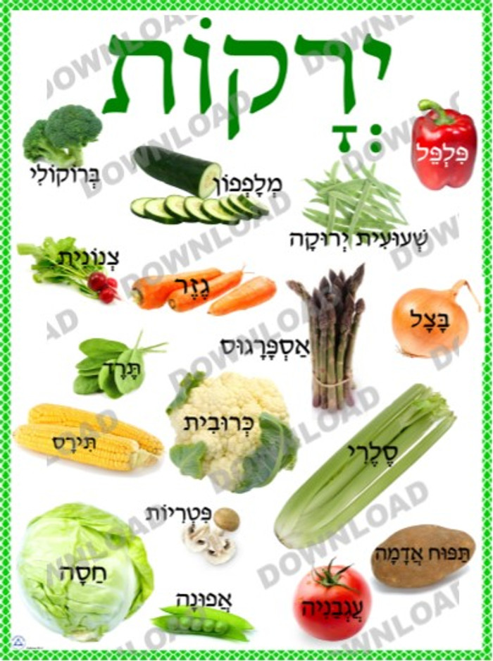 Vegetables Poster (a downloadable item)