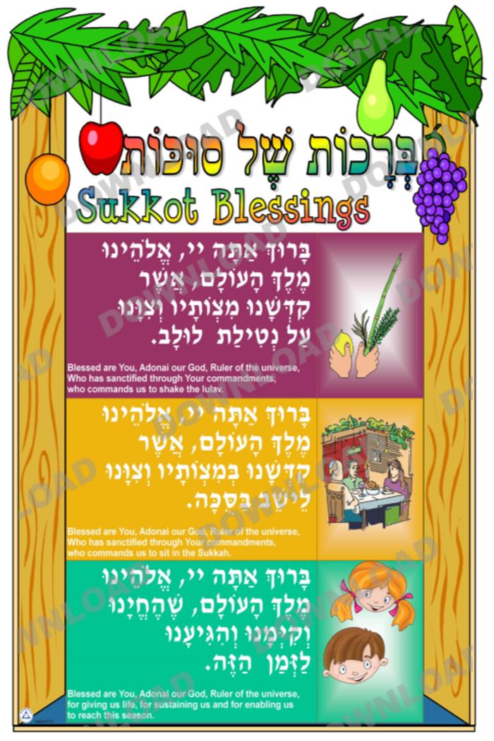Sukkot Poster set