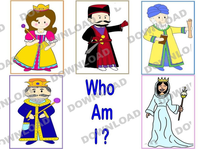 Who Am I? Poster (a downloadable item)