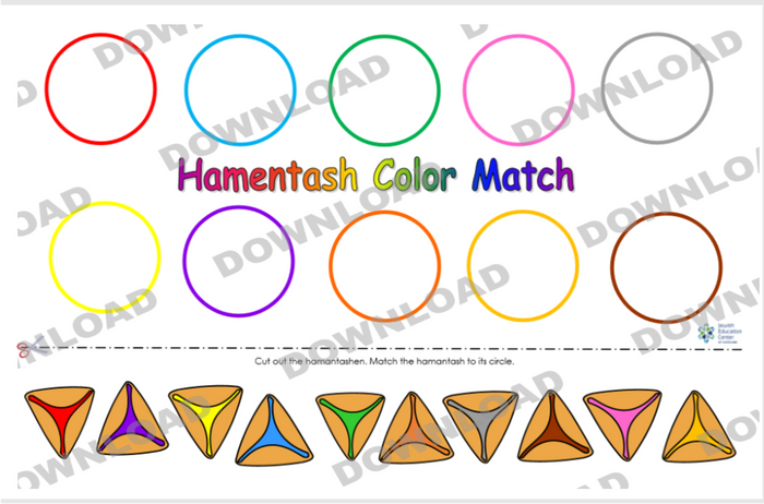 Hamantash Color Match (a downloadable item)