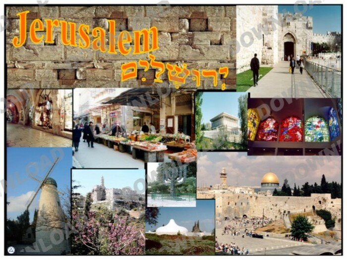Jerusalem Poster (a downloadable item)