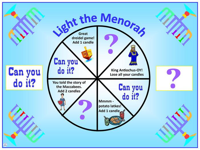 Light the Menorah Game