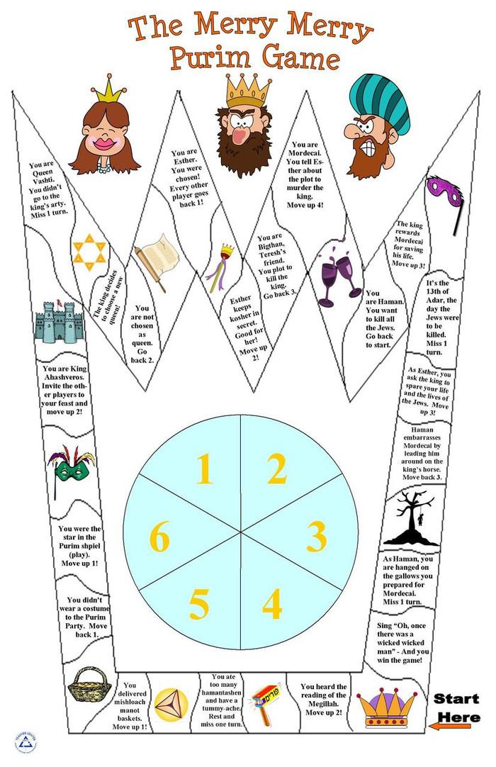A Merry, Merry Purim Game
