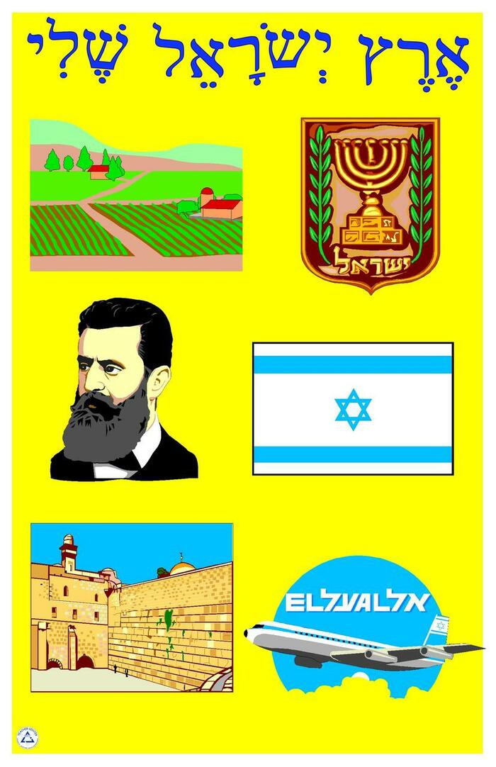 My Israel Teaching Poster