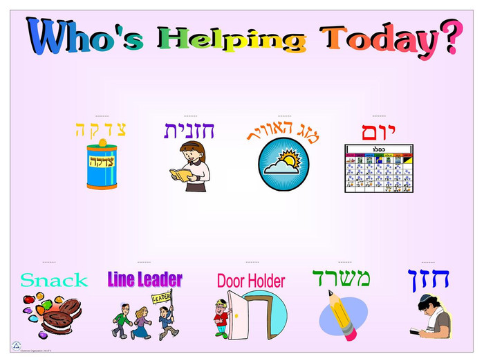 Who's Helping Today?
