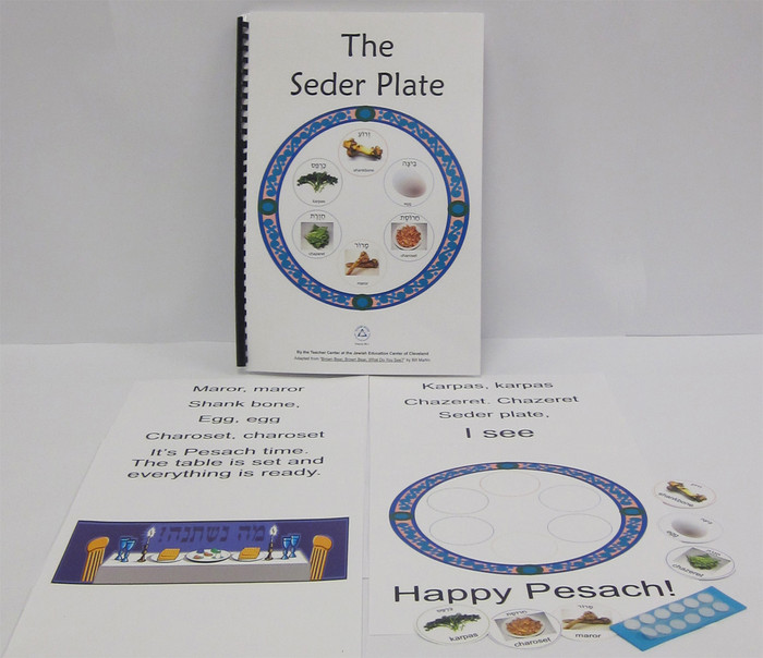 The Seder Plate, a What Do You See Book