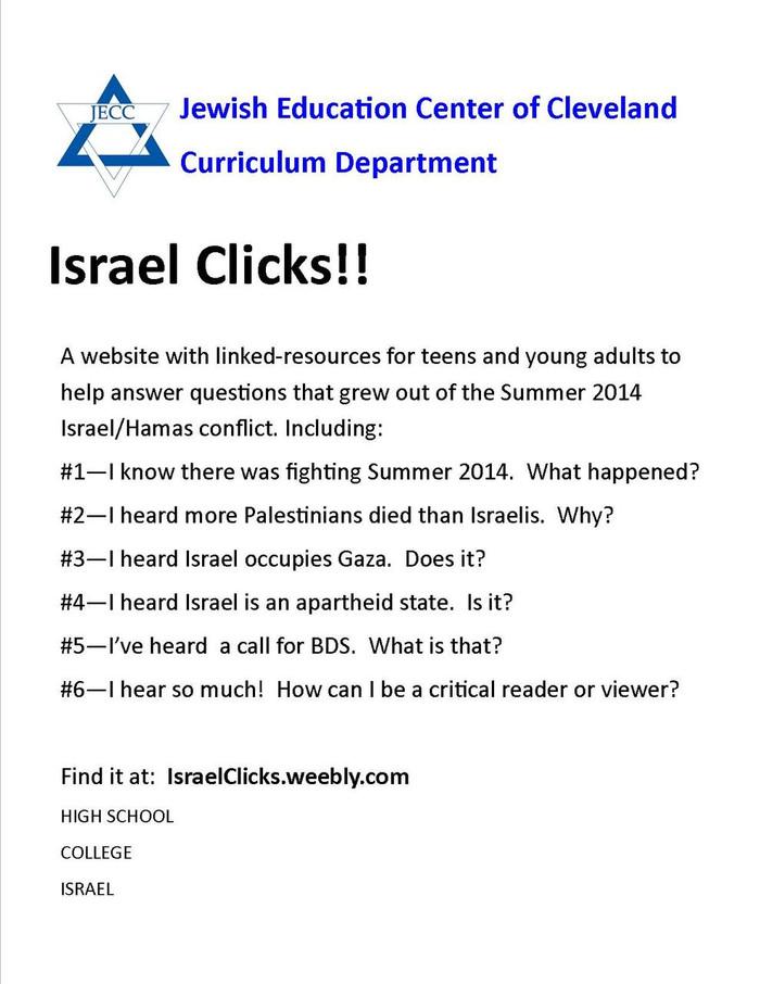 http://israelclicks.weebly.com