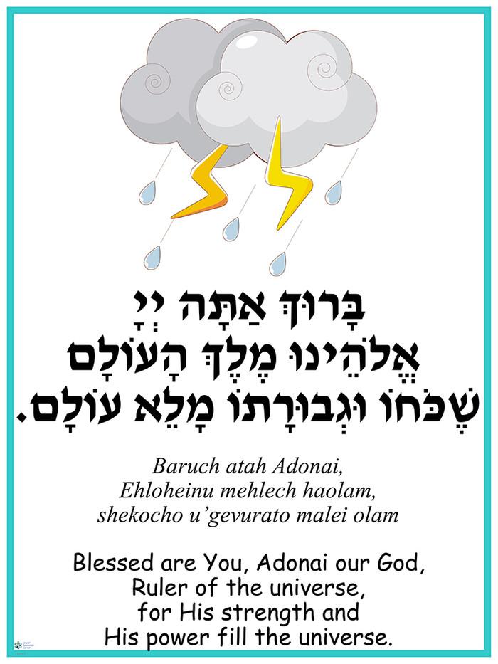 Thunder Blessing Poster