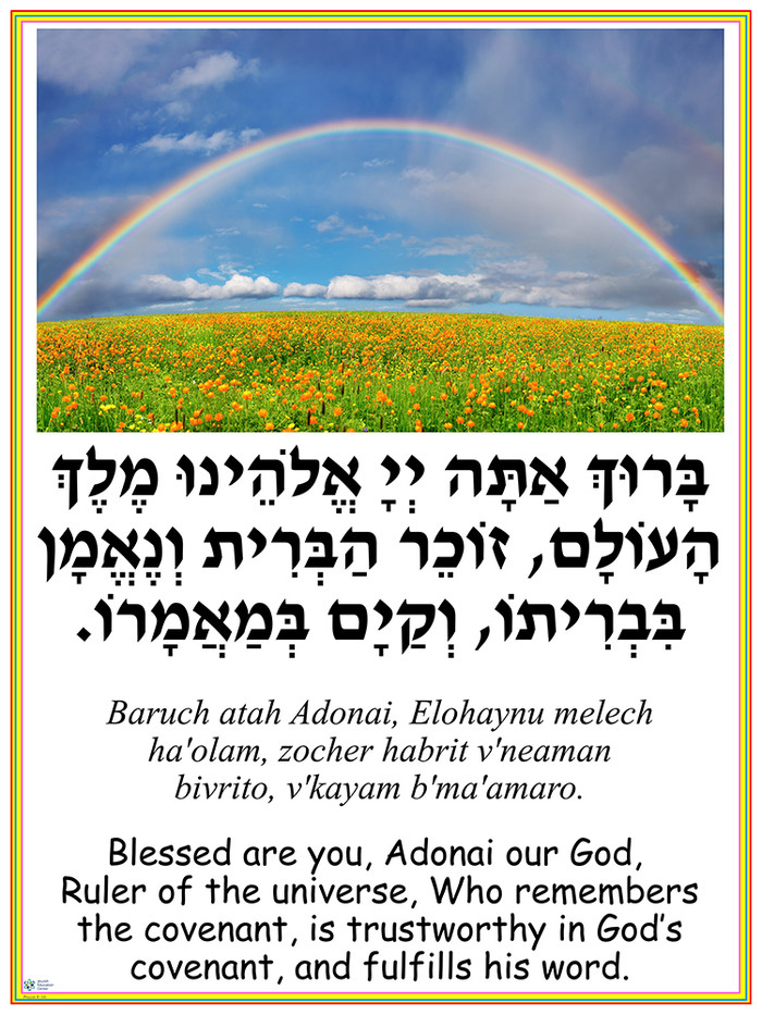 Zocher HaBrit Poster