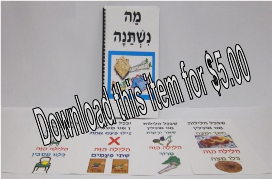 Ma Nishtanah Book (a downloadable item)