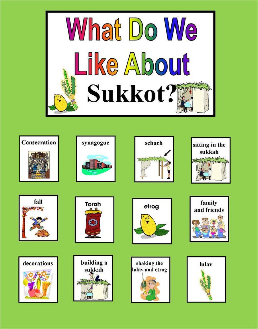 What Do We Like About Sukkot?