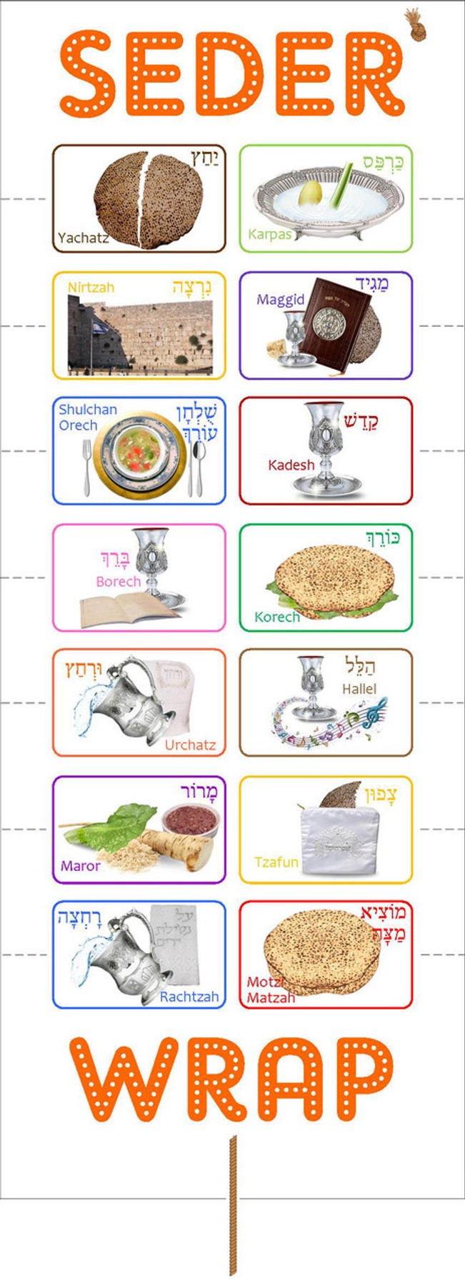 Seder Wrap