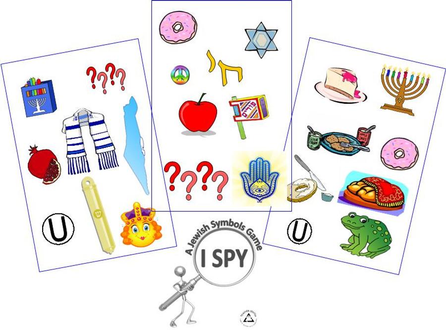 I Spy: A Jewish Symbols Game