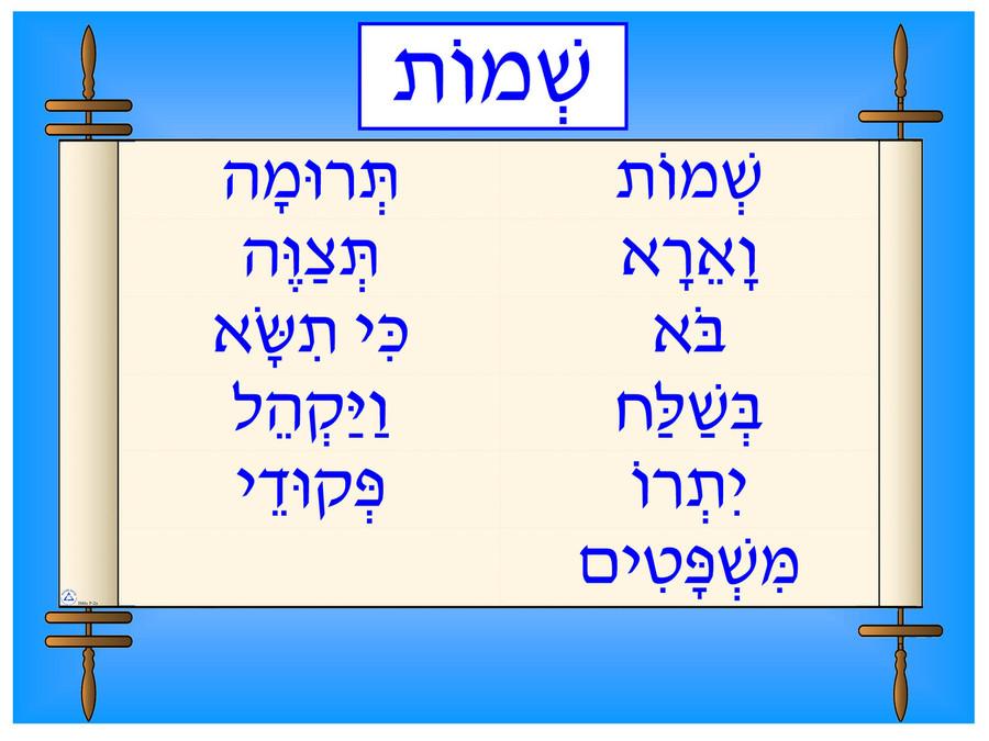 Shemot Poster