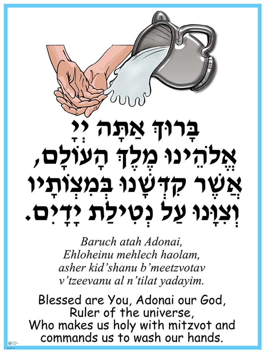 Al Netilat Yadayim Poster
