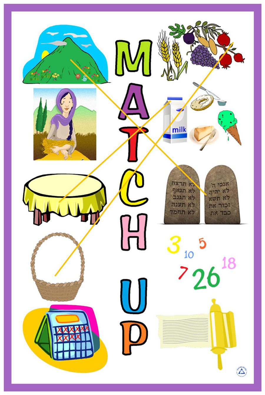 Shavuot Match Up