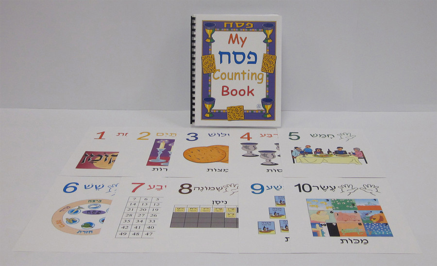 My Pesach Counting Book