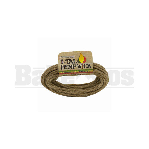 I TAL BRANDED HEMPWICK 3.5' SINGLE COLOR Pack of 1