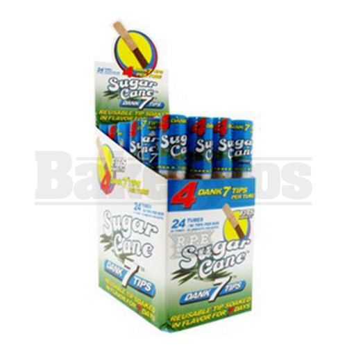 CYCLONES DANK 7 TIPS 4 PER TUBE SUGAR CANE Pack of 24