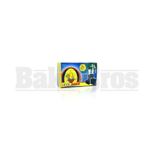 COCO NARA HOOKAH SHISHA CHARCOAL NATURAL Pack of 45