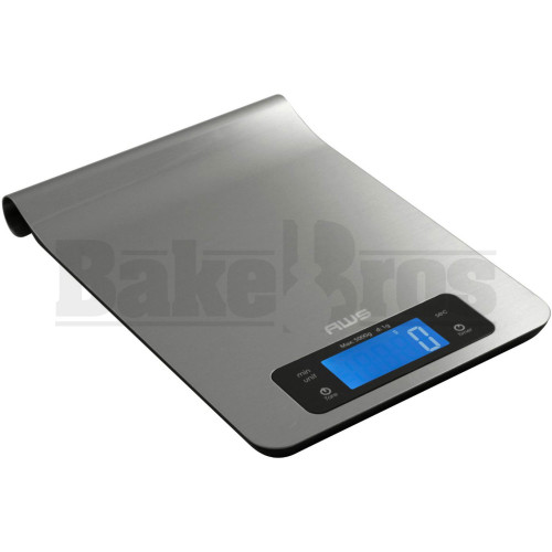 WEIGHMAX KITCHEN STAINLESS STEEL ELECTRONIC DIGITAL SCALE IKS 1g 5000g SILVER