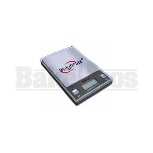 WEIGHMAX DIGITAL POCKET SCALE W-HD SERIES 0.1g 650g BLACK