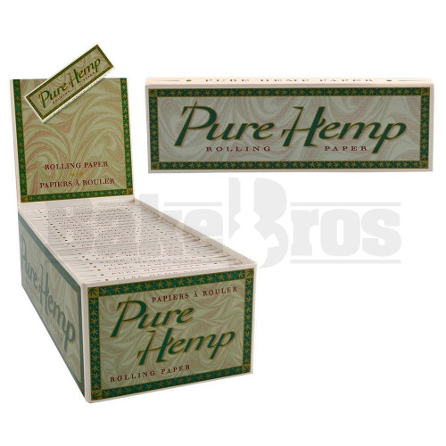 PURE HEMP ROLLING PAPERS SW 50 LEAVES UNFLAVORED Pack of 50