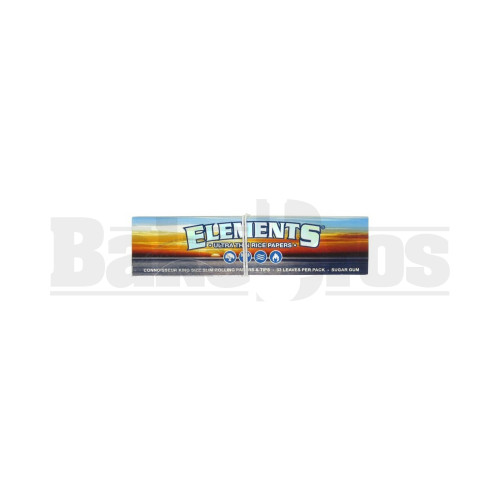 ELEMENTS ROLLING PAPERS 50 LEAVES UNFLAVORED Pack of 50