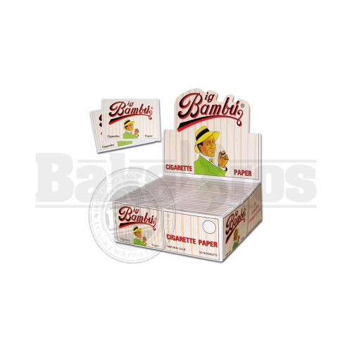 BIG BAMBU ROLLING PAPERS 1 1/4 UNFLAVORED Pack of 24