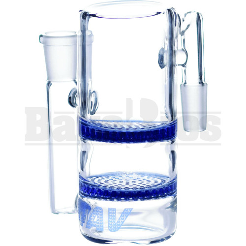 MAVERICK 2 HONEYCOMB ASHCATCHER BLUE MALE 14MM