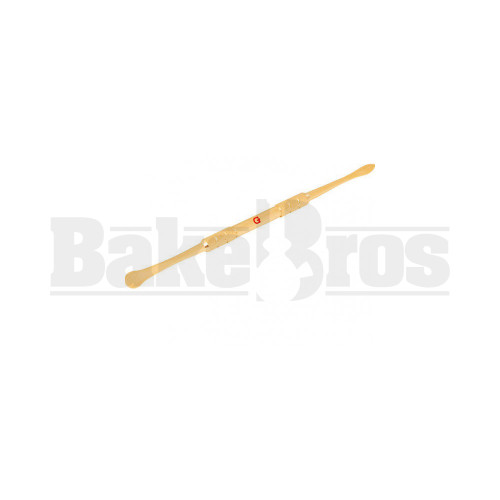 """FULL MELT METAL DABBER TOOL FAUX COATING WITH G SYMBOL GOLD 5"""""""