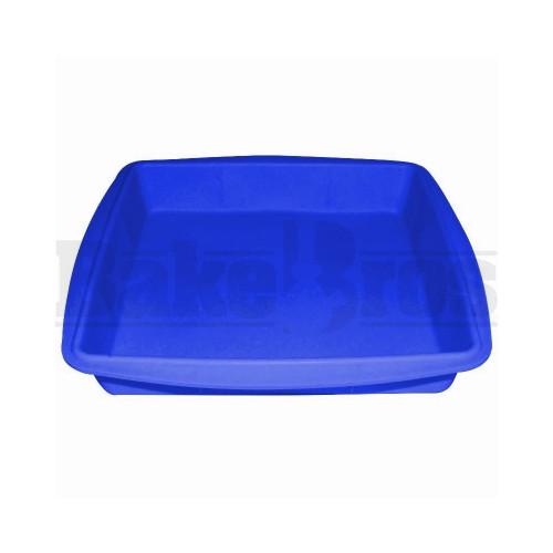 "FOGG SILICONE WAX TRAY BLUE Pack of 1 8""L X 8""W X1""H"