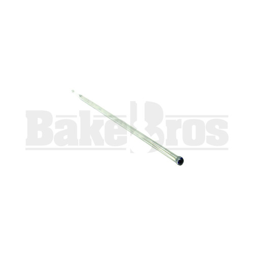 """GLASS VAPOR TOOL FAT TUBE CLEAR Pack of 1 6"""""""