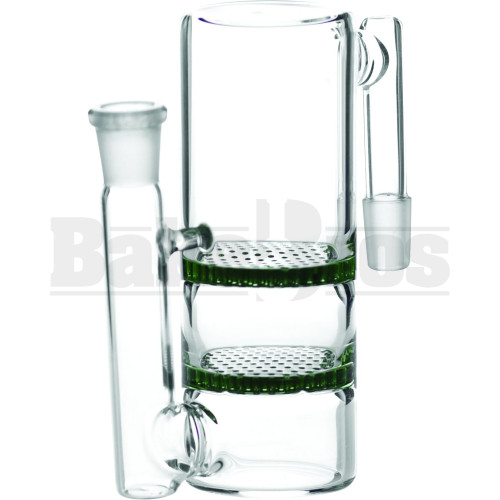 ASHCATCHER 2X HONEYCOMB DISK PERC S CONFIG GREEN MALE 14MM