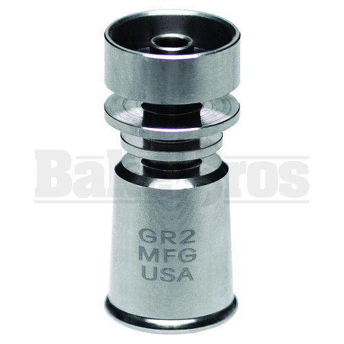 18MM TITANIUM NAIL VAPOR DOMELESS METALLIC FEMALE